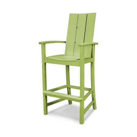 Modern Adirondack Bar Chair in Lime
