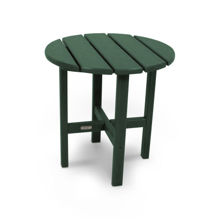 """18"""" Round Side Table by Ivy Terrace™ in Green"""