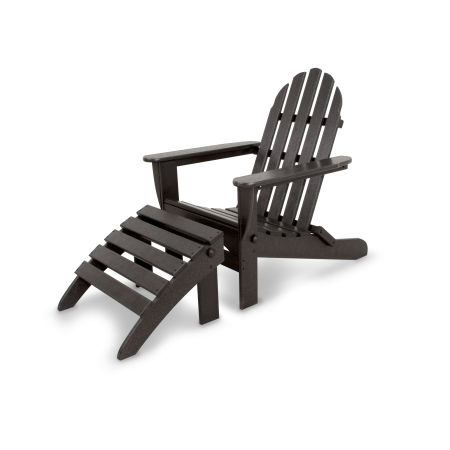 Classics 2-Piece Folding Adirondack Set