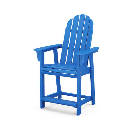 Vineyard Adirondack Counter Chair in Pacific Blue
