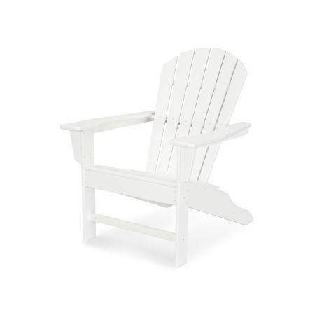 South Beach Adirondack in Vintage White