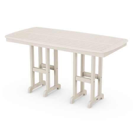 """Nautical 37"""" x 72"""" Counter Table in Sand"""