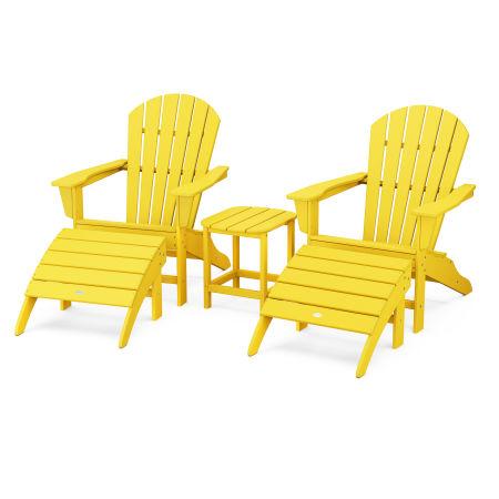 South Beach Adirondack 5-Piece Set in Lemon