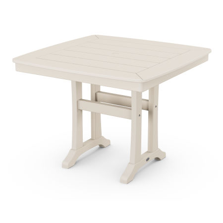 """37"""" Dining Table in Sand"""