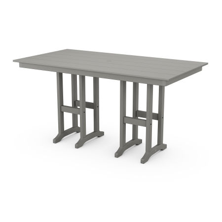 "Farmhouse 37"" x 72"" Counter Table"