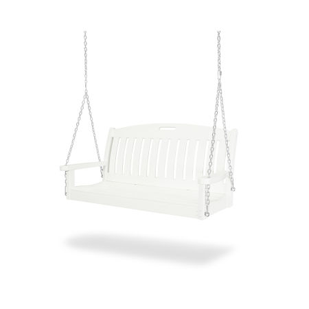 """Nautical 48"""" Swing in Vintage White"""