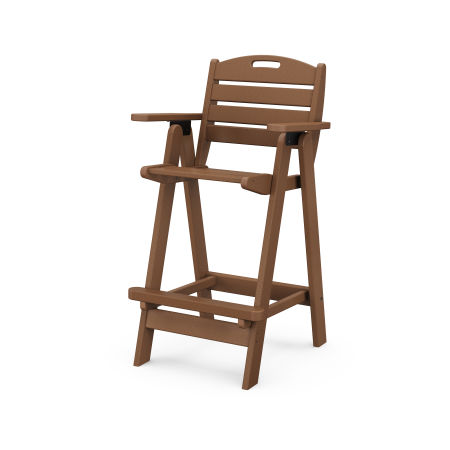 Nautical Bar Chair in Teak
