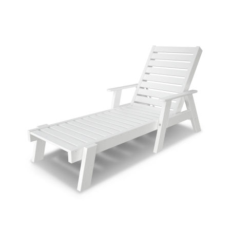 Captain Chaise with Arms in White
