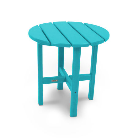 """18"""" Round Side Table by Ivy Terrace™ in Aruba"""