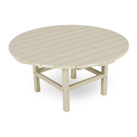 "Round 38"" Conversation Table in Sand"