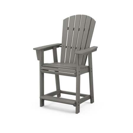 Nautical Curveback Adirondack Counter Chair