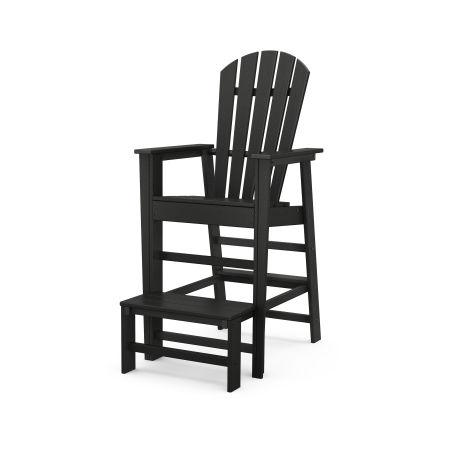 South Beach Lifeguard Chair in Black
