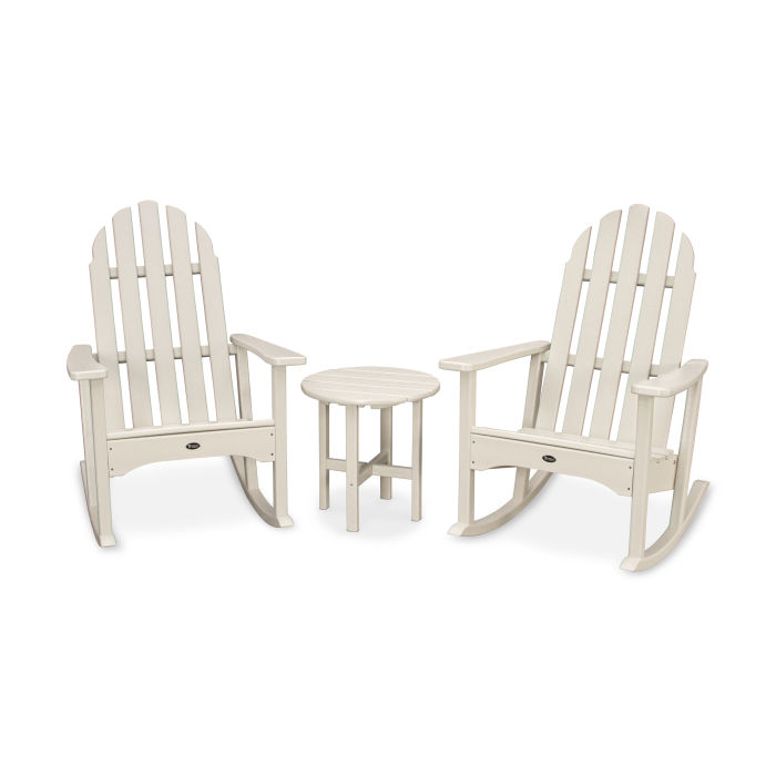 Cape Cod 3-Piece Adirondack Rocker Set