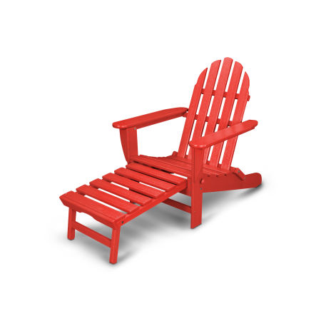 Classics Ultimate Adirondack Chair in Sunset Red