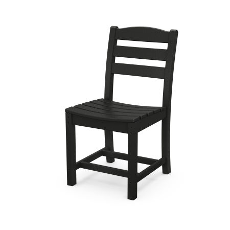 La Casa Café Dining Side Chair in Black