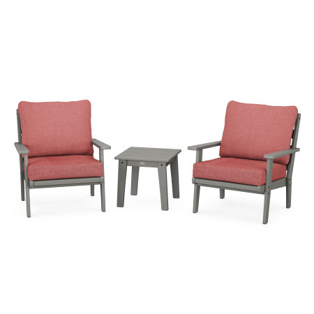 Grant Park 3-Piece Deep Seating Set