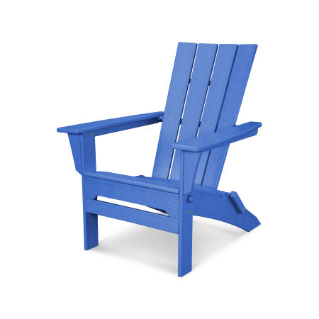 Quattro Folding Adirondack in Pacific Blue
