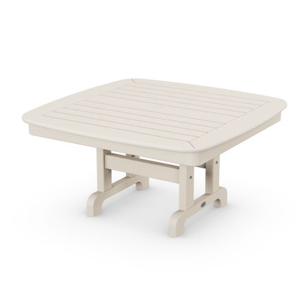 """Nautical 37"""" Conversation Table in Sand"""