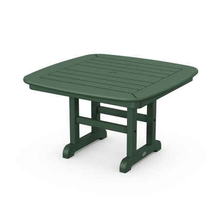 """Nautical 31"""" Conversation Table in Green"""