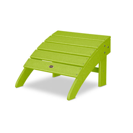 Palm Coast Ottoman in Lime