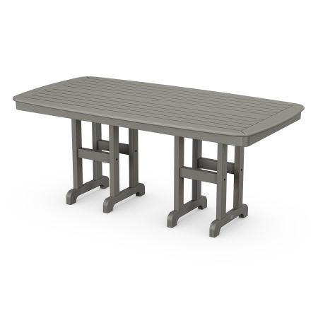 "Nautical 37"" x 72"" Dining Table in Slate Grey"
