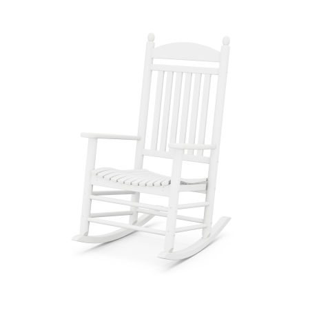 Jefferson Rocking Chair in White