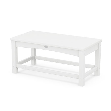 Club Coffee Table in White