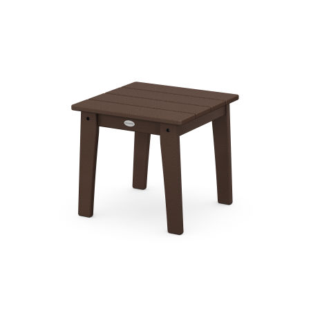 Lakeside End Table in Mahogany