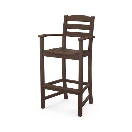La Casa Café Bar Arm Chair in Mahogany