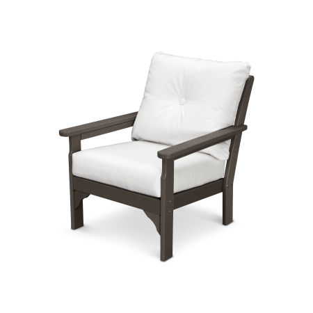 Vineyard Deep Seating Chair in Vintage Finish