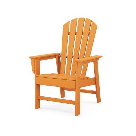 South Beach Casual Chair in Tangerine