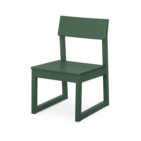 EDGE Dining Side Chair in Green