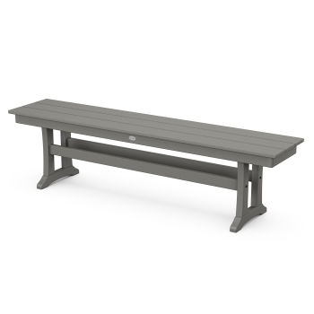 "Farmhouse Trestle 65"" Bench"