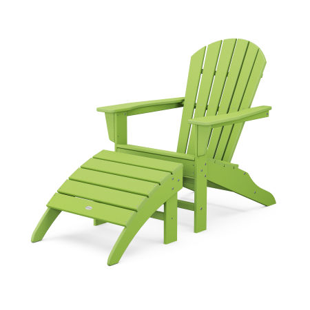 South Beach Adirondack 2-Piece Set in Lime