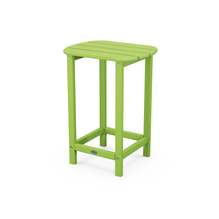 """26"""" Counter Side Table in Lime"""