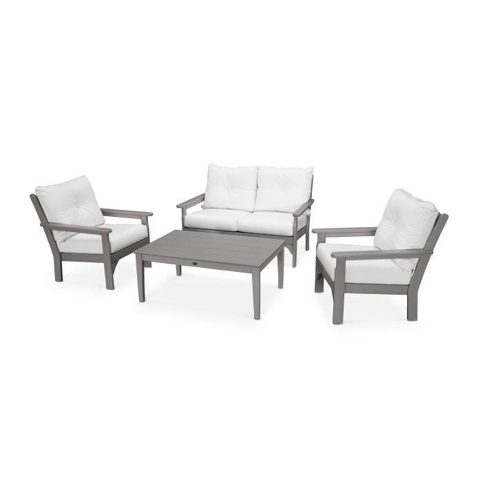 Vineyard 4-Piece Deep Seating Set