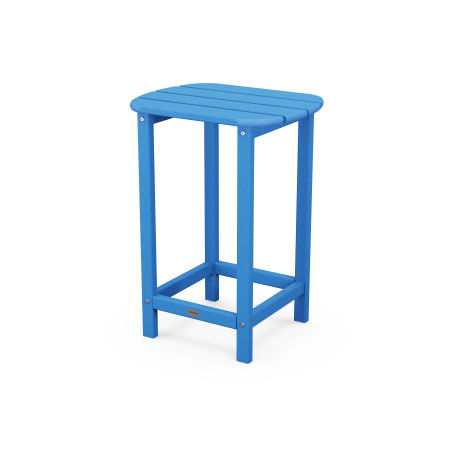 "26"" Counter Side Table in Pacific Blue"