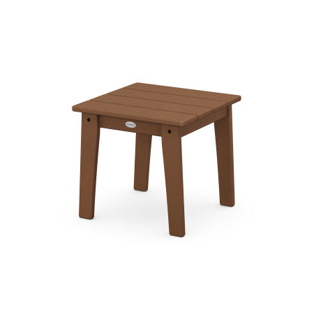 Lakeside End Table in Teak