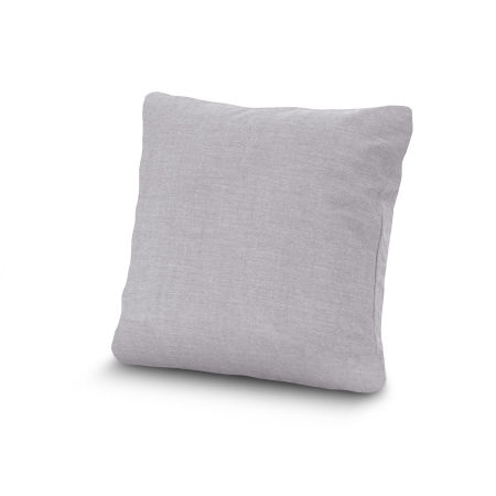 "20"" Outdoor Throw Pillow by POLYWOOD® in Granite"