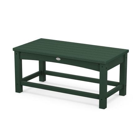 Club Coffee Table in Green