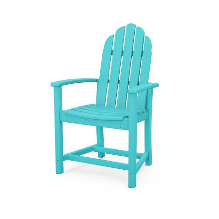 Classic Adirondack Dining Chair in Aruba