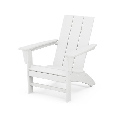 Modern Adirondack Chair in White