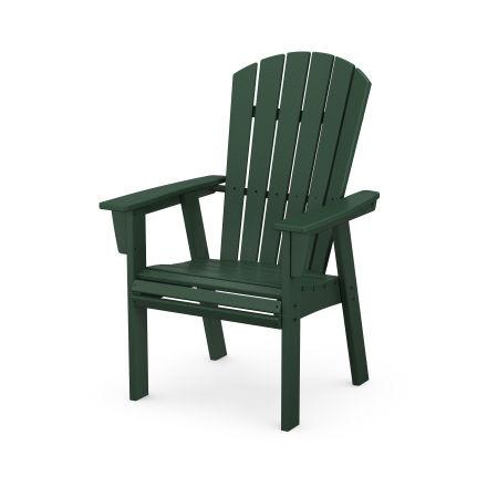 Nautical Adirondack Dining Chair in Green