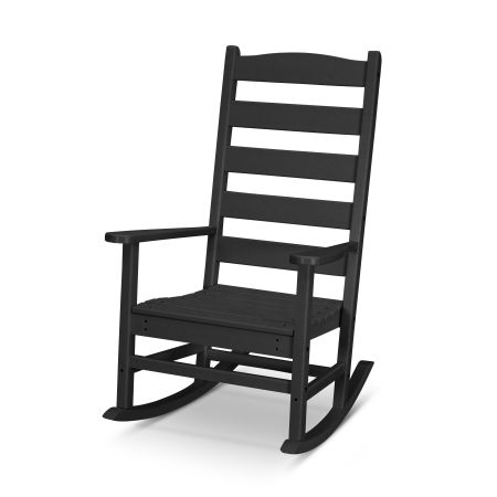 Shaker Porch Rocking Chair in Black