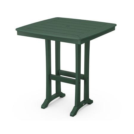 "37"" Bar Table in Green"