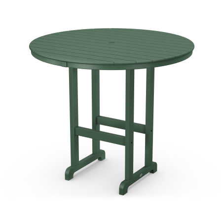"""Round 48"""" Bar Table in Green"""
