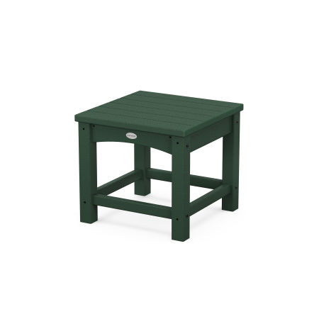"""Club 18"""" Side Table in Green"""