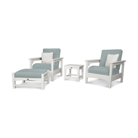 Club 4-Piece Deep Seating Set