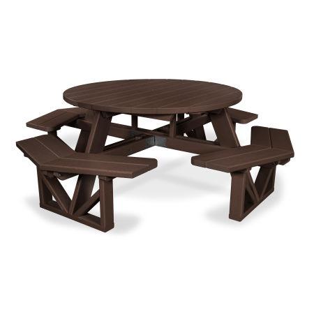 """Park 53"""" Octagon Table in Mahogany"""