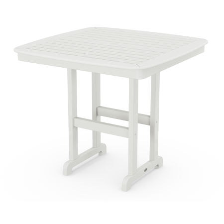 """Nautical 44"""" Counter Table in Vintage White"""